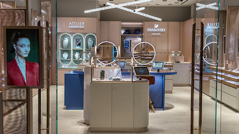 Swarovski wants to restore - even enhance - the sparkle in retail-store experiences. Image courtesy of Swarovski