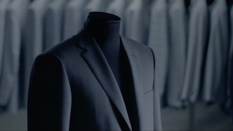 Brioni is known for its sharply cut Italian suits, with ambassadors such as actors Pierce Brosnan, Matt Dillon and the recently signed-on Brad Pitt. Image credit: Brioni