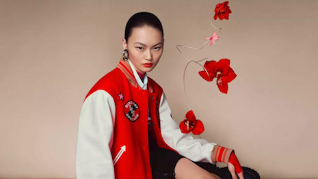 Burberry Chinese New Year 2020 campaign with a capsule collection. Image credit: Burberry