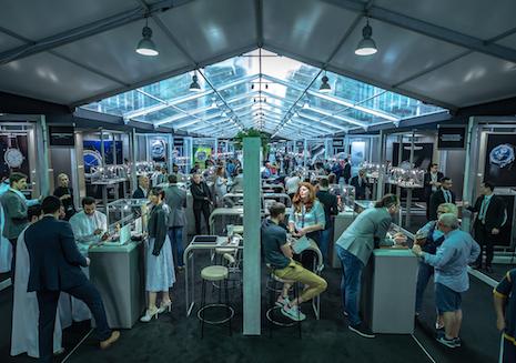 Brand Exhibition hall at Dubai Watch Week 2019. Image credit: Dubai Watch Week