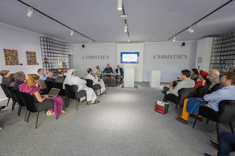Christie's pop up at Dubai Watch Week 2019. Image credit: Dubai Watch Week