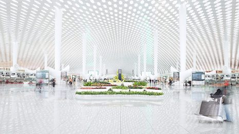By driving sales and improving brand relevance, airports have become a sweet spot in luxury retail. Image credit: Shutterstock. Illustration: Haitong Zheng/Jing Daily
