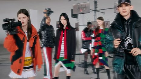 Tik Tok is the ultimate destination for quirky short-videos, which makes it an ideal platform for brands to create video content to reach a possible younger consumer base. Image credit: Burberry. Illustration: Haitong Zheng/Jing Daily