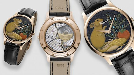 The Lunar New Year is always a good excuse for luxury brands to offer cultural products to Chinese consumers, and this year, Metal Rats are the theme. Image credit: Chopard. Illustration: Haitong Zheng/Jing Daily