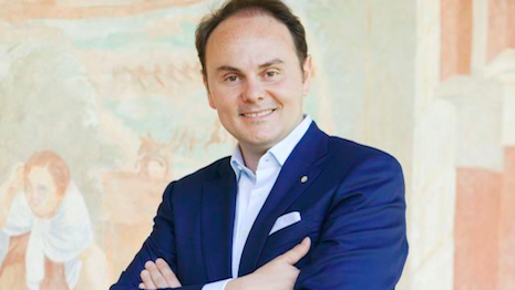 Matteo Lunelli is 2020-22 president of Altagamma, Italy's trade body for local luxury brands and retailers. Image credit: Altagamma