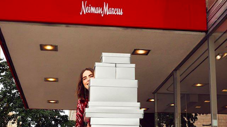 Thinking out of the box. Image credit: Neiman Marcus