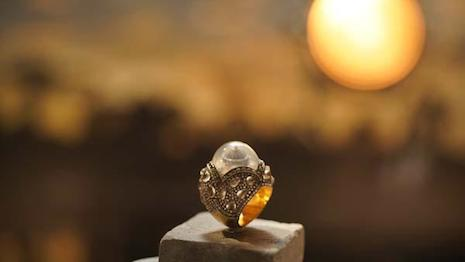 Phillips will offer this ring by Turkish jeweler Sevan Bıçakçı in its Dec. 9 jewels auction in New York, with the proceeds going to water charity One Drop. Image courtesy of One Drop