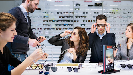 Safilo has to reinvent itself after luxury brands take eyewear manufacturing in-house. Image credit: Safilo Group