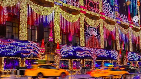HBC-owned Saks Fifth Avenue's light show in New York ends Jan. 2, continuing a well-loved tradition over the years. Image credit: Saks Fifth Avenue