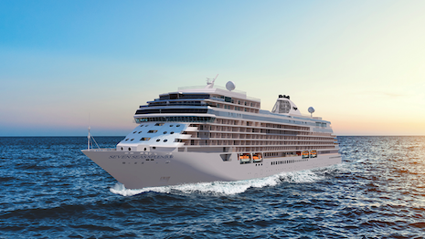 The Seven Seas Splendor is part of a class of luxury liners that is part-floating hotel, part-wellness retreat and part-art gallery - all to whet the experiential appetite of discerning, affluent passengers. Image credit: Regent Seven Seas