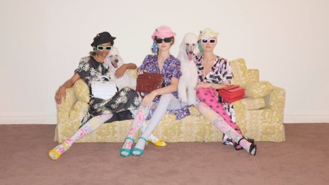 The Marc Jacobs offers an eclectic line of fashion apparel and accessories. Image courtesy of Marc Jacobs International