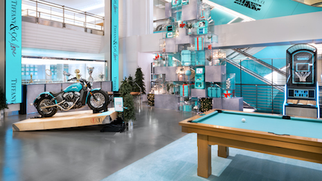 Tiffany's Men's pop-up store next door to its soon-to-renovate flagship will give visitors a taste of what the new Tiffany retail experience will look like. Image courtesy of Tiffany & Co.
