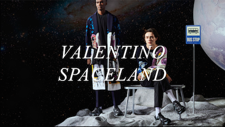 Spaced out: Valentino's Spaceland spring 2020 collection is a homage to the moon. Image credit: Valentino