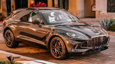 The Aston Martin DBX is the automaker's first SUV in its 106-year history and could give it some oomph in sales. Image credit: Aston Martin Lagonda