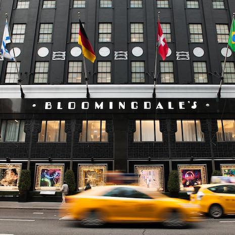 Bloomingdale's on 59th Street and Lexington Avenue in New York. Image courtesy of Bloomingdale's