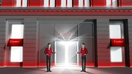 Meeting Chinese shoppers where they are: Cartier's online boutique on Alibaba's Tmall Luxury Pavilion. Image courtesy of Tmall