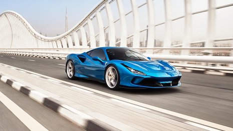 The Ferrari F8 Tributo. Image credit: Ferrari