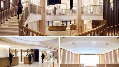 Harrods' beauty space is an investment from the department store in experiential retailing. Image courtesy of Harrods