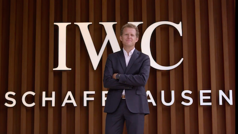 Lorenz Brunner, IWC Schaffhausen department head of research and innovation, shares information on the materials behind the watchcases. Image credit: IWC Schaffhausen