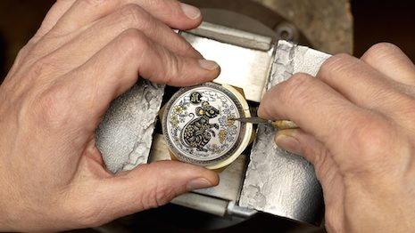 Asian markets account for half of all Swiss watches sold in the market. Image courtesy of Panerai