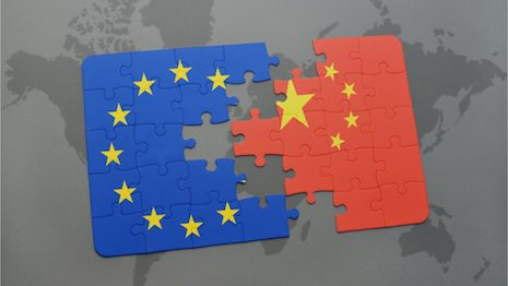 Faced with the perspective of an ongoing trade war with the United States, the European Union should consider scaling down its operations there, while recalibrating its efforts with China. Image credit: Shutterstock