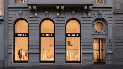 Exterior of Icicle's flagship store on Avenue George V in Paris, France. Image credit: Icicle