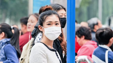 Luxury stocks get spooked as anxiety over China's new virus rises. Image credit: Shutterstock