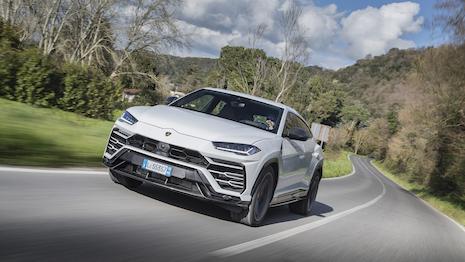 The Urus Super SUV accounted for nearly 60 percent of all cars sold by Lamborghini last year. Image courtesy of Lamborghini. Photo credit: Ingo Barenschee