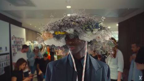 A behind-the-scenes look from the Louis Vuitton spring summer 2020 collection runway show. Image credit: Louis Vuitton