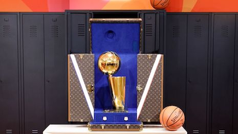 Louis Vuitton is teaming up with the NBA. Image credit: Louis Vuitton
