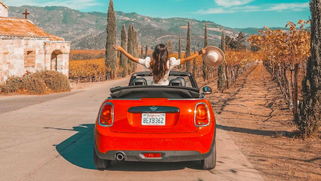 Napa Valley in California is wine country. Image credit: Visit California