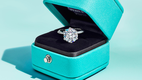 What goes into the blue box: Tiffany is asserting leadership in diamond traceability. Image credit: Tiffany & Co.