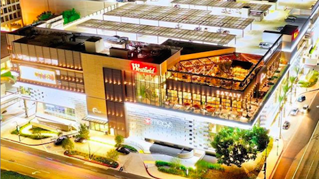 The Westfield Century City Mall in Los Angeles has seen a major uptick in foot traffic since a $1 billion makeover in September 2017. Image credit: Westfield Century City Mall