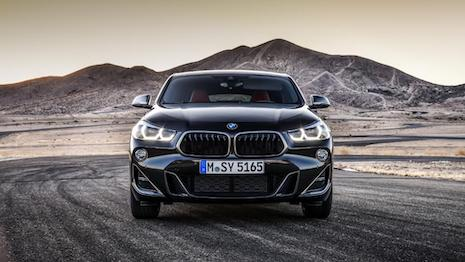 Rock solid: The BMW X2. Image credit: BMW