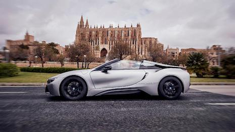 The new BMW i8 Roadster. Image credit: BMW