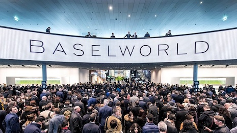 Baselworld last year: The event is the largest watches and jewelry show worldwide. Image credit: Baselworld