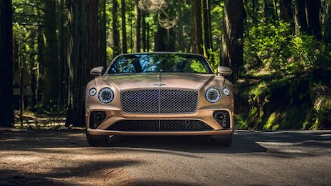As British as they come: Bentley Motors' Continental GT V8 convertible. Image credit: Bentley Motors
