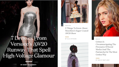 Vogue.co.uk is one of the most visited fashion sites in its market. Image credit: British Vogue