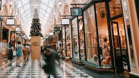 Burlington Shopping Arcade in London near Savile Row. Image credit: enVista, unSplash