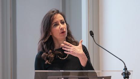 Nadia Portioli, financial analyst at Mediobanca. Courtesy of Mediobanca.