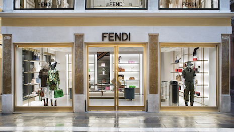 Fendi's new boutique in Venice aims to be LEED certified. Image courtesy of Fendi