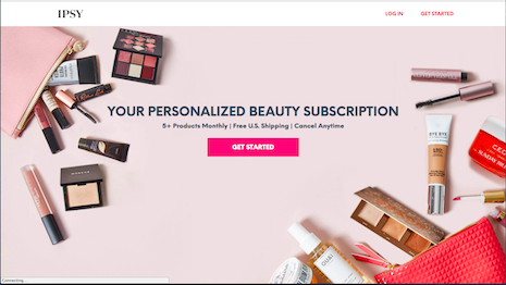 Subscription services have disrupted the beauty business, but there are questions about the disruptors' staying power. Image credit: Ipsy