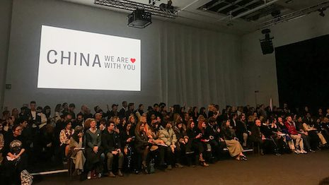 Unfortunately, COVID-19 is starting to breed anti-Chinese sentiments around the world. But Milan Fashion Week is standing out by combating them while celebrating Chinese culture. Image credit: Tamsin Smith