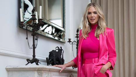 Kate Upton modeling looks for U.S. department store chain Neiman Marcus' spring 2020 campaign. Image courtesy of Neiman Marcus