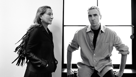 Miuccia Prada, with the appointment of former Calvin Klein chief creative officer Raf Simons, will for the first time share creative responsibilities with another fashion designer. Image courtesy of Prada