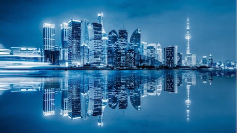 Shanghai is the commercial capital of China