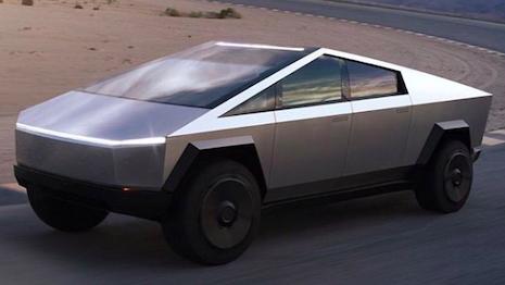 Tesla Motors' Cybertruck. Image credit: Tesla Motors