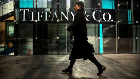 Closed Tiffany store in China because of the coronavirus (Covid-19). Image credit: Shutterstock