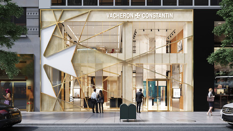 Rendering of what the Vacheron Constantin New York flagship store on 28 East 57th Street will look like upon opening in spring 2021. Image courtesy of Vacheron Constantin