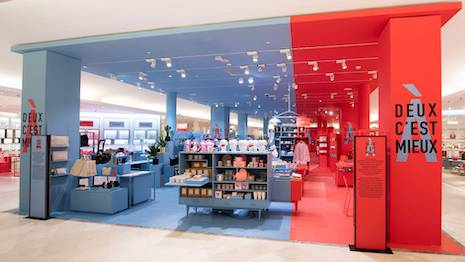 Two is Better curated shopping experience in French department store Le Bon Marché. Image courtesy of Le Bon Marché.